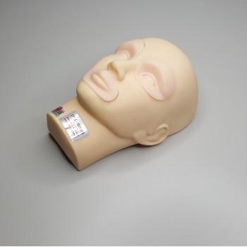 Манекен со сменными частями для тренировки перманентного макияжа