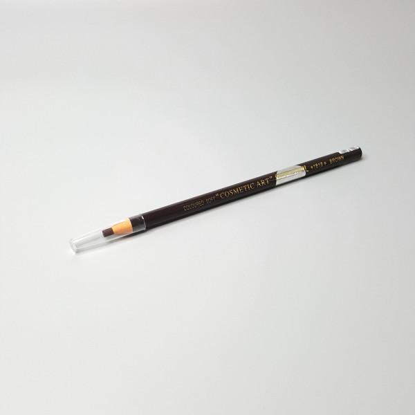 Карандаш для бровей с ниткой (коричневый)