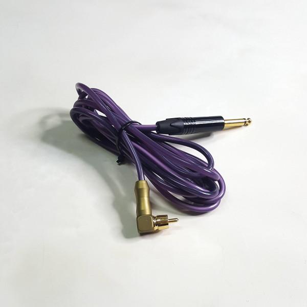 Клип корд EZ (RCA) г-образный для роторных и тату машинок
