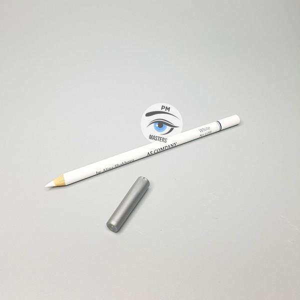 Карандаш для эскиза AS-company белый