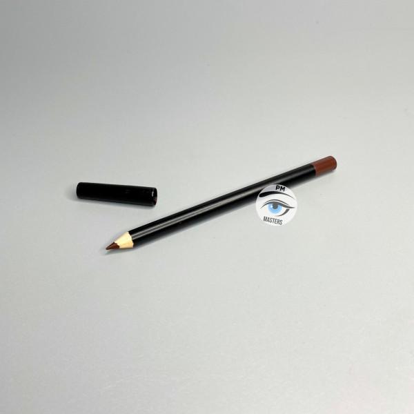 Карандаш для эскиза перманентного макияжа. Коричневый