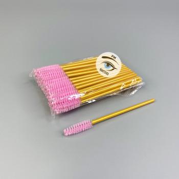Пластиковые щёточки для бровей и ресниц