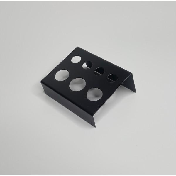 Подставка под капсы металлическая (черная)